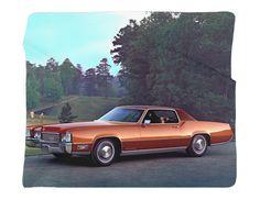 "1970 Cadillac Eldorado Photo Blanket / Wall Banner 50 x 60"" or 60 x 80"""