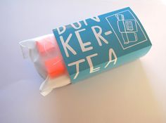 Bunker Tea Concept on Packaging of the World - Creative Package Design Gallery