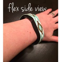 Mint Tribal Fitbit Band Cover Fitbit Cover by CierrasCorner