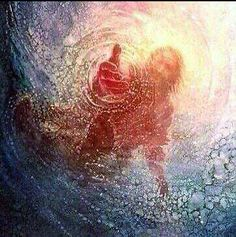 """Do you feeling like you are drowning from the stress of the world???  Come to JESUS today!! Ask Him to give you Hope and Peace! TRUST IN JESUS!  """"The LORD himself goes before you and will be with you; he will never leave you nor forsake you. Do not be afraid; do not be discouraged."""" Deut 31:8"""