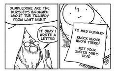 """These Hilarious """"Harry Potter"""" Comics Show How Irresponsible Dumbledore Was"""
