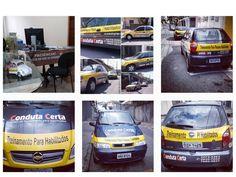 Frota de veículos Conduta Certa www.medodedirigirsp.com.br
