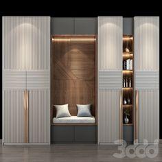 Hallway Furniture, Bedroom Furniture Design, Decor Interior Design, Home Decor Furniture, Wall Wardrobe Design, Wardrobe Door Designs, Bedroom Closet Design, Kitchen Room Design, Home Room Design