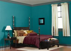 I painted a virtual home with my colors using the ColorSmart by BEHR® Mobile App. The ColorSmart by BEHR® Mobile App lets me paint a room with colors I select. How does it look?