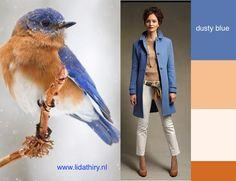 De natuur is een onuitputtelijke bron van inspiratie om mooie kleurencombinaties te maken. #kleurencombinaties #kledingcombinaties
