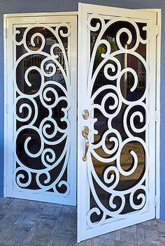 Metal Door With Burglar Proofing