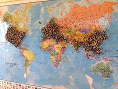 Resultado de imagen para mapa del mundo tumblr