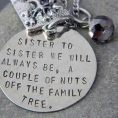 @rhonda v you're the closest thing I have to a sister. So here is to us :0) lol