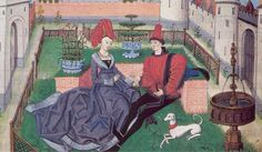 The Garden of Love Loyset Liédet   b. about 1420 possibly Hesdin, France, d. 1479 Bruges, Belgium  Illuminator  Flemish