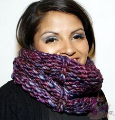 Sliped Purl Cowl