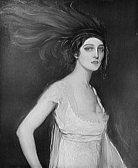 Ida Lvovna Rubinstein (Russian: Ида Львовна Рубинштейн; 5 October 1885 – 20 September 1960) was a Russian ballerina, actress, patron and Belle Époque figure.