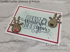 The Craft Spa - Stampin' Up! UK independent demonstrator : Wonderful Reindeer Time of Year...