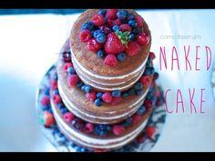 Bolo Naked de 3 andares — Vai Comer o Quê?