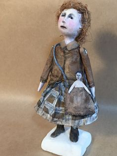 "OOAK Art Doll ""Sukey"" by SusanHopkirkFolkArt on Etsy"