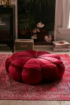 Shop Clarice Velvet Round Floor Pillow at Urban Outfitters today. We carry all the latest styles, colours and brands for you to choose from right here. Sewing Room Design, Round Floor Pillow, Large Floor Pillows, Floor Seating, Floor Cushions, Home Interior Design, Urban Outfitters, Bedroom Decor, Bedroom Ideas
