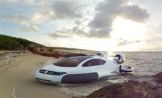 Volkswagen Aqua Curvy Hovercraft - An easier commute out to Long Island from home in CT.