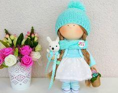 Arte de la muñeca coleccionable muñeca hecha a mano muñeca