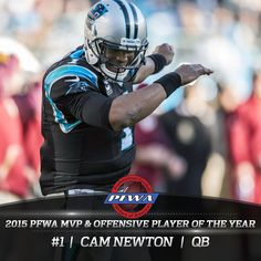 2015 NFL MVP and Offensive Player of the Year | PFWA