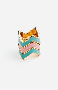 Chevron Crush Ring Loveeee itttt!  please anyone?