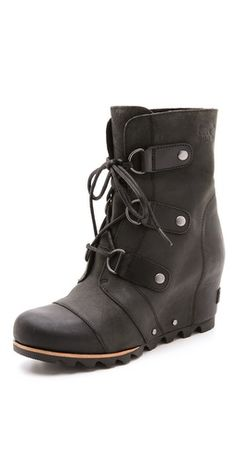 I can't believe these are made by Sorel!? winter boots get cute...