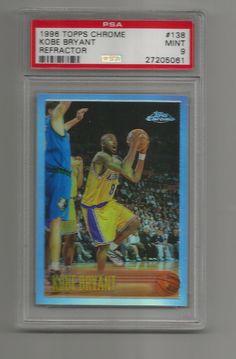 KOBE BRYANT 1996-97 TOPPS CHROME REFRACTOR ROOKIE CARD! PSA 9 ! SHOULD B 10! | Sports Mem, Cards & Fan Shop, Sports Trading Cards, Basketball Cards | eBay!