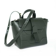 Mini Maestra in Forest from SENREVE. Functional satchel with multiple ways to wear. $695. #giftsforme