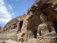 Datong: Yungang Grottoes check out more Top 10 Best Attractions To Explore In Different Cities Of China http://www.ourlovefortravel.com/2014/03/18/top-10-best-attractions-explore-different-cities-china/