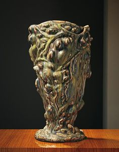 "Axel Salto large Sprouting style Vase, 1945, 19 1/8"" tall"