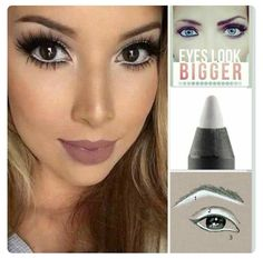 Tip Tuesday!  Use our Pristine White Precision Eyeliner on your lower waterline and our 3D+ Fiber Lash Mascara to make your eyes look bigger and better! Shopping link... http://www.youniqueproducts.com/NicoleChiappetta/party/2255441/view