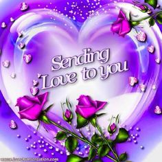 Purple heart of love Purple Love, All Things Purple, Purple Rain, Purple Hearts, I Love Heart, My Love, Imagenes Betty Boop, Love Wallpaper, Love Images