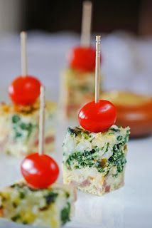 Egg Casserole with Ham, Cheese & Spinach (scroll--the recipe is there)