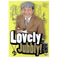 Only Fools & Horses Lovely Jubbly Fridge Magnet Life In The Uk, This Is Your Life, David Jason, Uncle Albert, Only Fools And Horses, British Comedy, Comedy Tv, Great British, Classic Tv