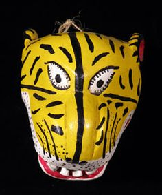 Indigo Arts Gallery | Dance Masks from Mexico 1
