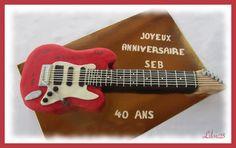 65 Meilleures Images Du Tableau Guitare Cake Design Music Cakes
