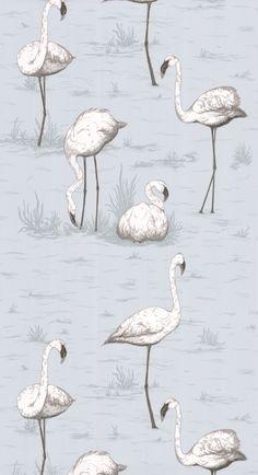 Flamingos - 95-8047 - Cole & Son.nl