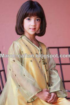 Caftan Enfants haute couture ~ Maroc Caftan