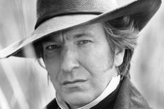 Alan Rickman as Colonel Brandon in Sense and Sensibility