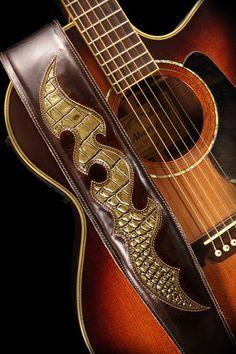 RiverWind Guitar Strap by Ethos Custom Brands