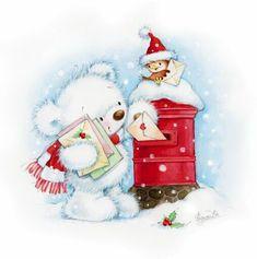 . Noel Christmas, Christmas Clipart, Christmas Animals, Christmas Printables, Christmas Pictures, All Things Christmas, Winter Christmas, Vintage Christmas, Christmas Crafts