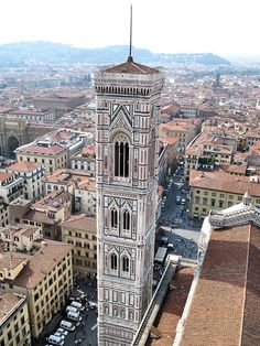 From the top of the Duomo in Florence