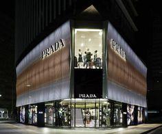 Prada, Nagoya Tower, Nagoya, Japan - Carlos Cruz-Diez