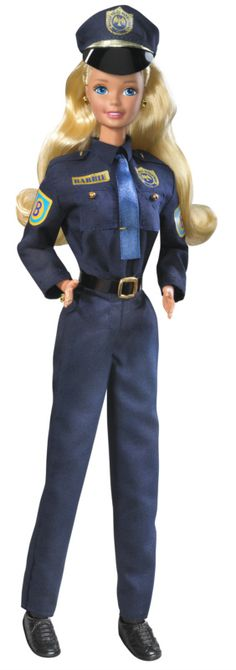 Police Barbie.  I bought this for Brittany when she was little.
