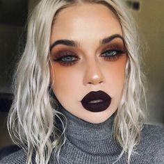 Vampir Make-up Vampire makeup Miladies net - Makeup Tutorial Smokey Makeup Goals, Makeup Inspo, Makeup Inspiration, Makeup Ideas, Eye Makeup Designs, Makeup Tutorials, Wedding Inspiration, Beauty Make-up, Hair Beauty