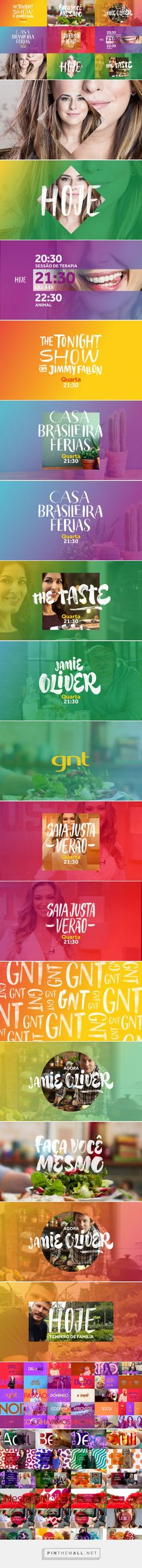 Globosat GNT Channel Branding Refresh on Behance... - a grouped images picture - Pin Them All