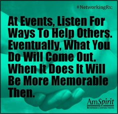 #NetworkingRx: What have you uncovered recently to help someone else?