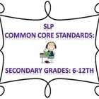 $9.75 I have identified the common core standards which focus on speech-language therapy goals to create a goal bank for SLPs. I have created a document ...