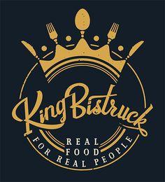 Branding e imagen corporativa - Logo King Bistruck