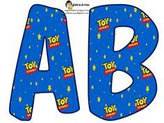 KATIA ARTES - BLOG DE LETRAS PERSONALIZADAS E ALGUMAS COISINHAS: Alfabeto toy sotory
