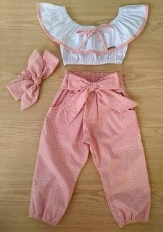 Girls Dresses Sewing, Kids Outfits Girls, Toddler Girl Dresses, Little Girl Dresses, Girl Outfits, Baby Girl Dress Patterns, Baby Dress Design, Baby Clothes Patterns, Cute Baby Clothes