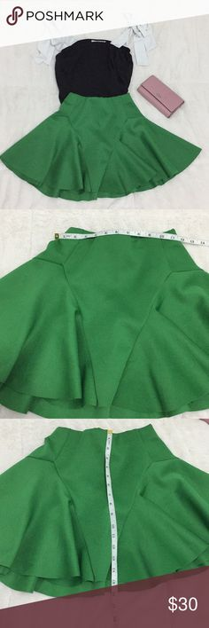#6. Green skirt As seen on pictures  UK 4 EU 32 US 0 ❌trade ASOS Skirts Mini